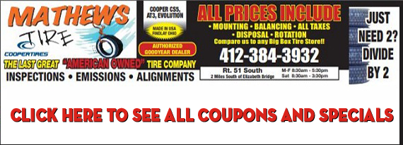 Mathews Tire Elizabeth Pa Tires And Emission Inspection And Tire